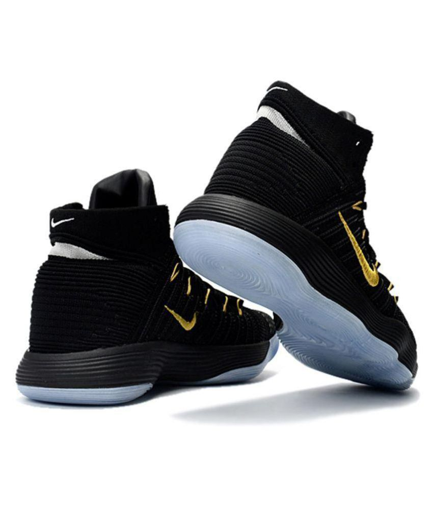 bc0e3d869300 Nike hyperdunk 2017 Black Basketball Shoes - Buy Nike hyperdunk 2017 Black  Basketball Shoes Online at Best Prices in India on Snapdeal