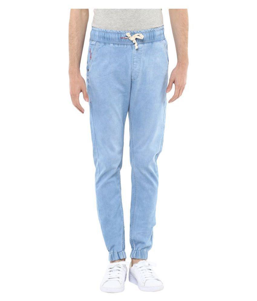 Code 61 Light Blue Super Skinny Jeans