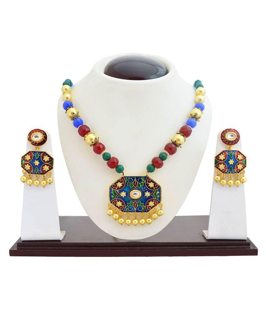 MK Jewellers Necklaces Set