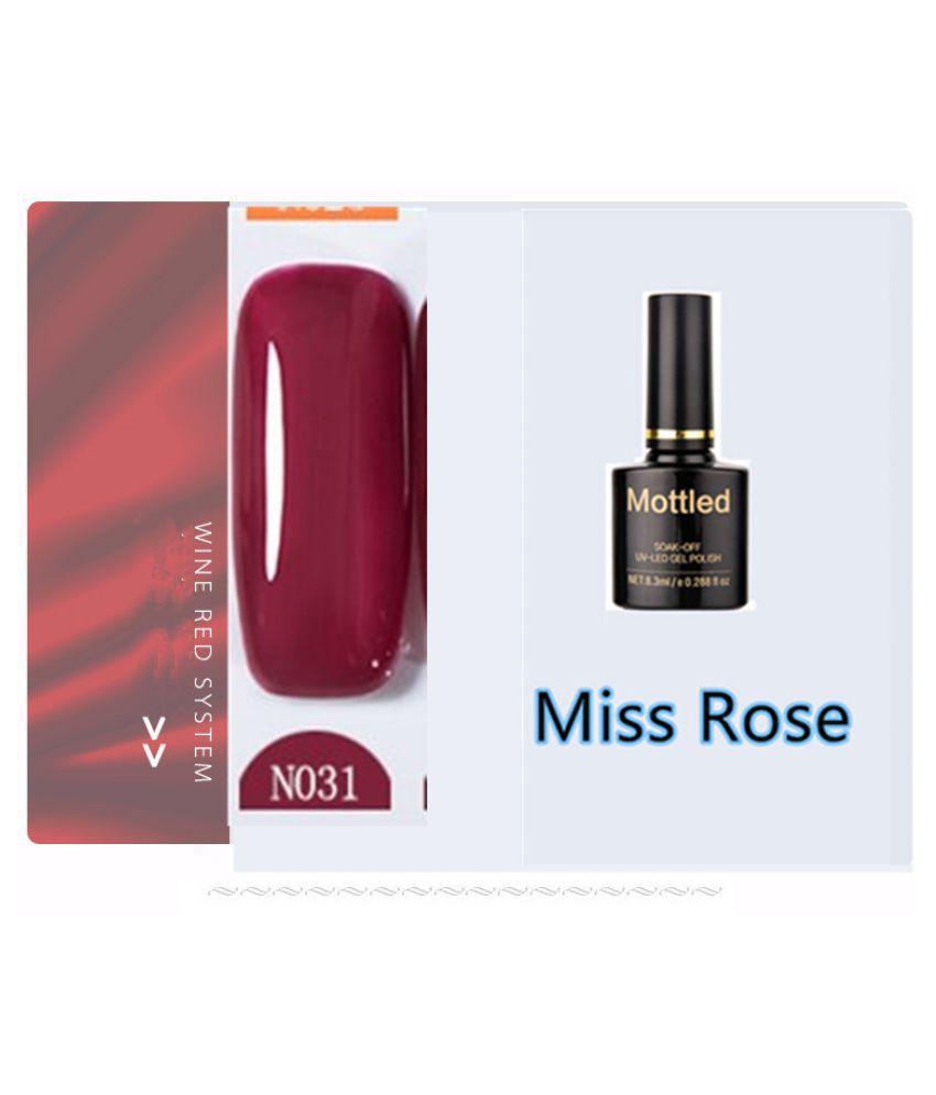 Miss Rose Nail Polish N031 As Picure Glossy 35g gm