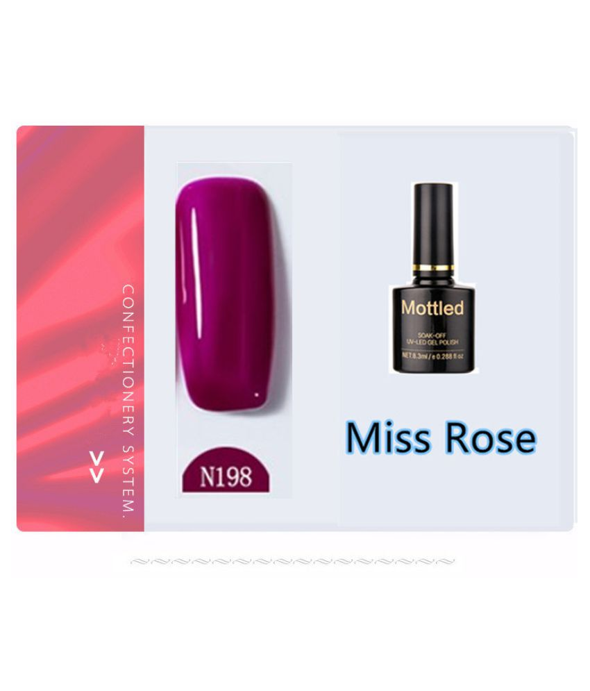 Miss Rose Nail Polish N198 As Picure Glossy 35g gm