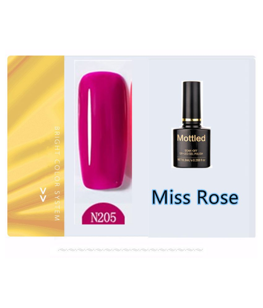 Miss Rose Nail Polish N205 As Picure Glossy 35g gm