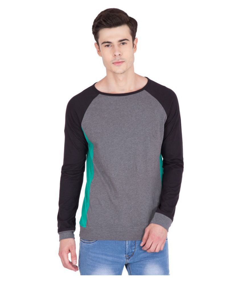b332922f29d8 PAUSE Multi Full Sleeve T-Shirt - Buy PAUSE Multi Full Sleeve T ...