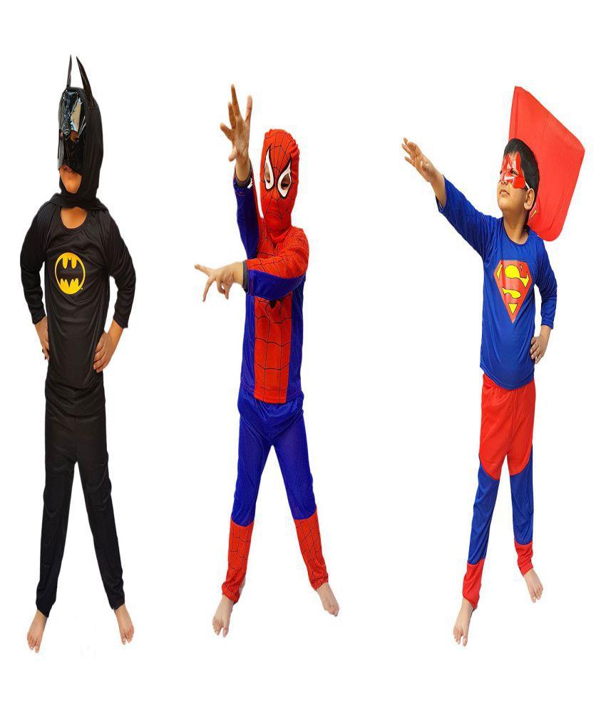 eb664ea2b Kaku Fancy Dresses Super Hero Costume   Fancy Dress 3 Pieces Set - Buy Kaku Fancy  Dresses Super Hero Costume   Fancy Dress 3 Pieces Set Online at Low Price  ...