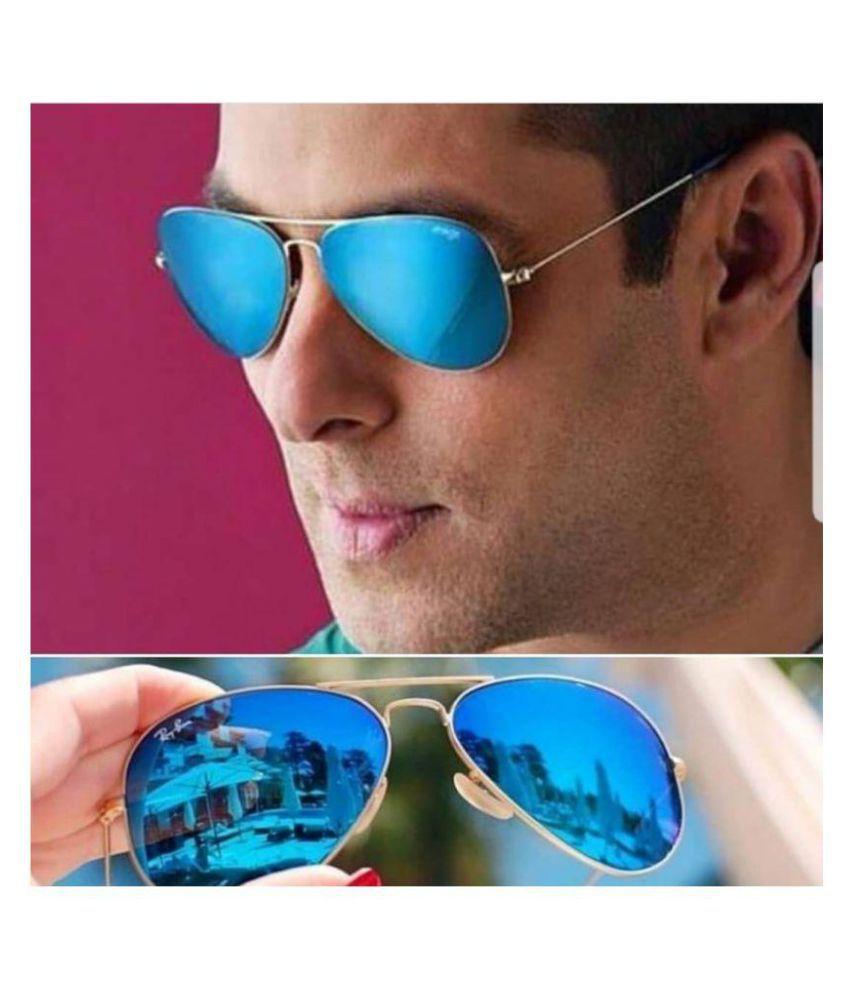 Ray Ban Gradient Aviators Men S Sunglasses For Men Rb3026 Blue
