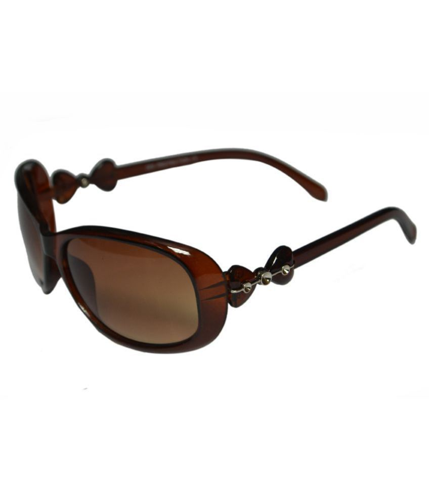 Victoria Secret Brown Oval Sunglasses ( vsi002101 )