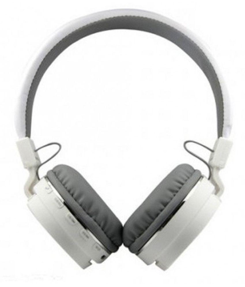 Avika Apple iphone7 Plus Compatible Wireless Bluetooth Headphone White
