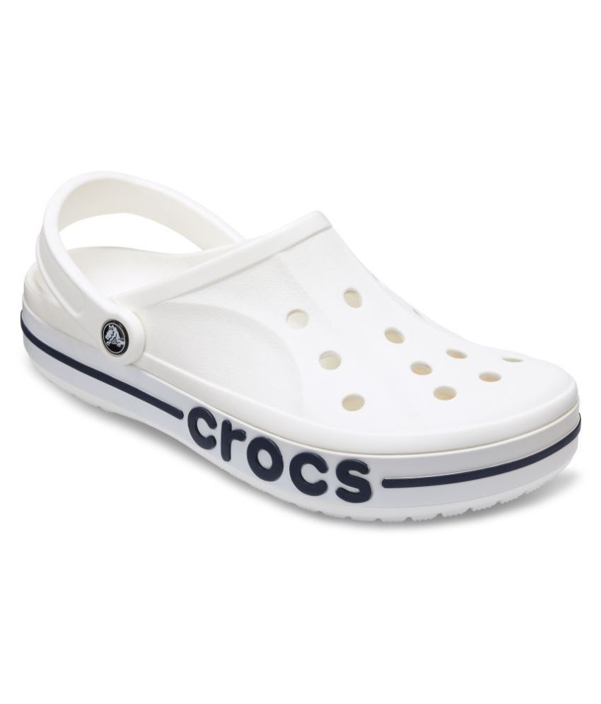 b51e4efa8bb Crocs White Clogs Price in India- Buy Crocs White Clogs Online at Snapdeal