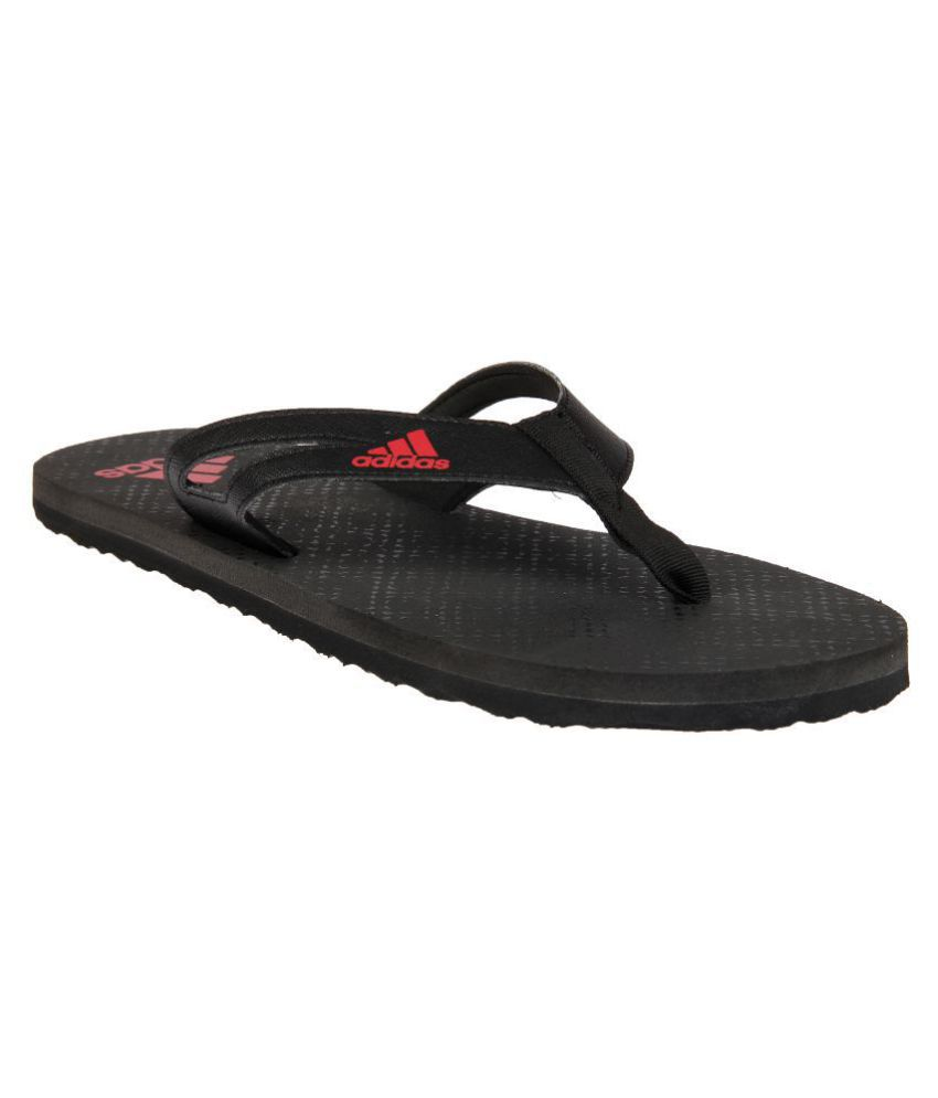 premium selection vast selection great fit Adidas OZOR II M Black Daily Slippers Price in India- Buy Adidas ...