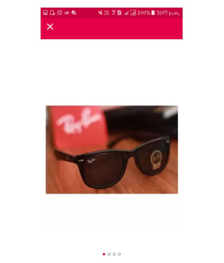7c0361241 Buy Ray Ban Sunglasses Brown Wayfarer Sunglasses ( RB1206 ) at Best Prices  in India - Snapdeal