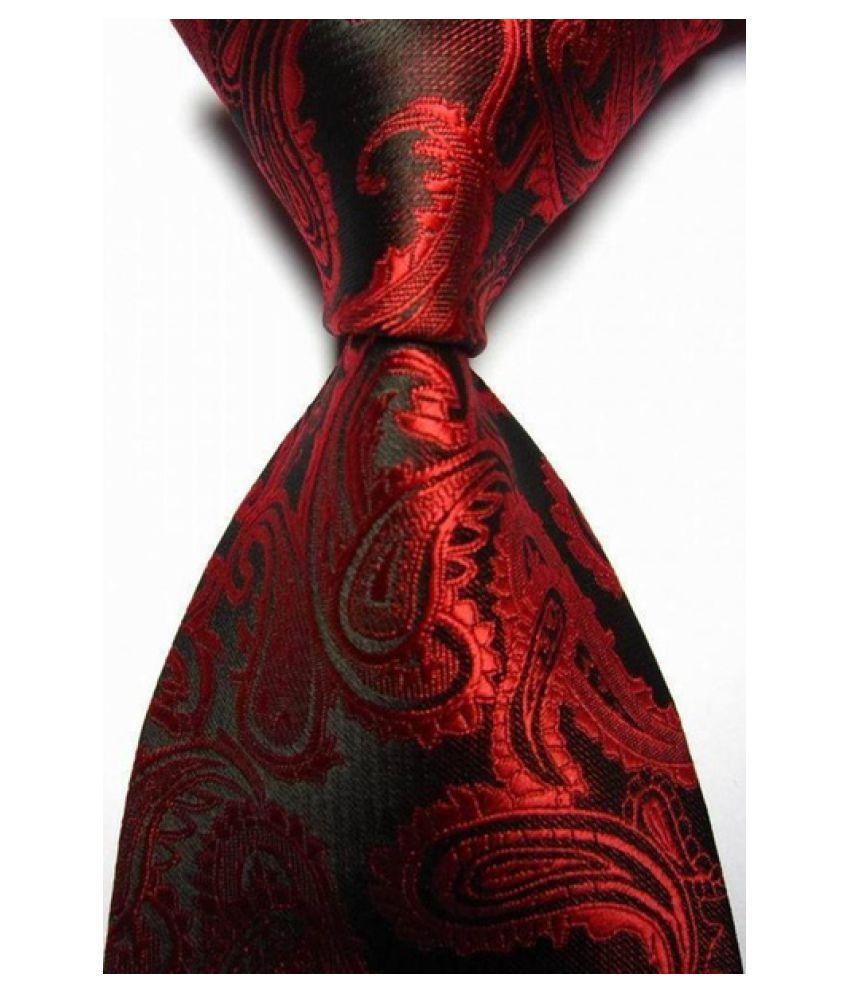 Kamalife Multi Paisley Polyester Necktie