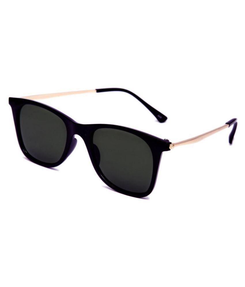 a95a97226 THEWHOOP Black Wayfarer Sunglasses ( SUN-DIAL-BLACK-GOLD ) - Buy THEWHOOP  Black Wayfarer Sunglasses ( SUN-DIAL-BLACK-GOLD ) Online at Low Price -  Snapdeal