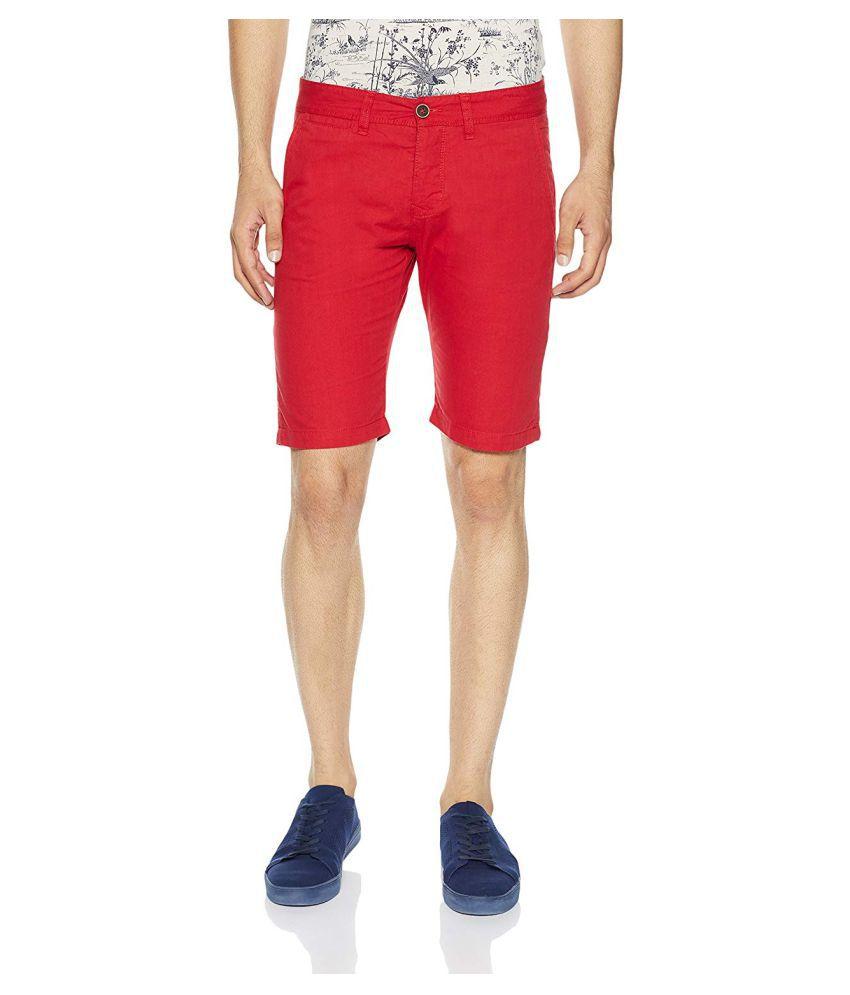 SHOPOLINE Red Shorts