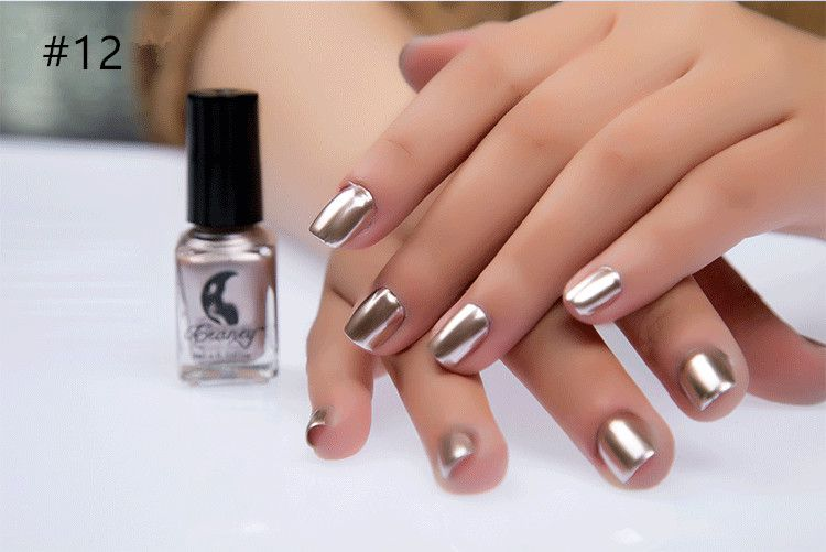 Miss Rose Nail Polish #12 As Picure Metallic 30g gm