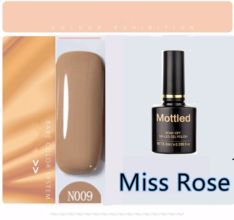 Miss Rose Nail Polish N009 As Picure Glossy 35g gm