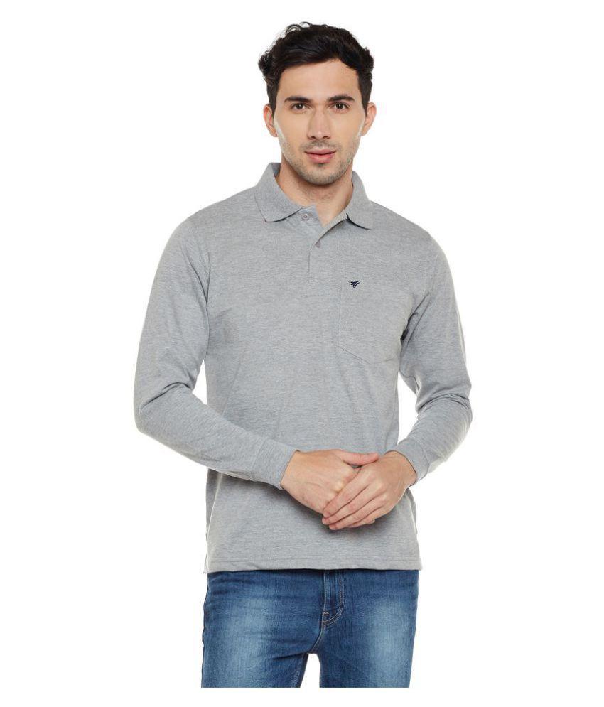 Neva Grey Full Sleeve T-Shirt