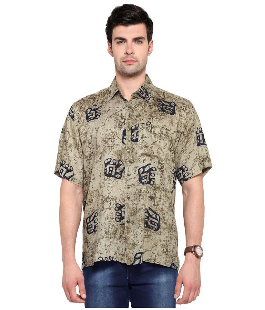 Vivid India Cotton Blend Shirt