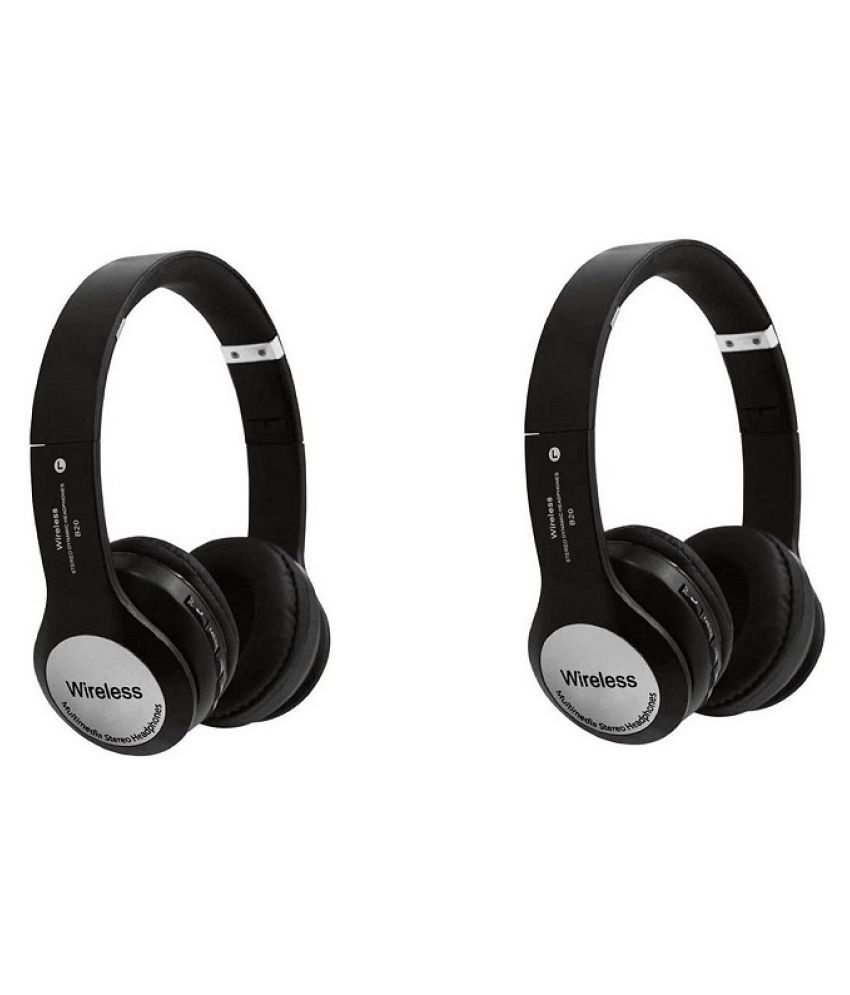 JOKIN B20-B1 combo Wireless Bluetooth Headphone Black