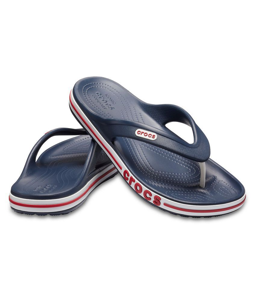 01d04b3fb8 Crocs Navy Daily Slippers Price in India- Buy Crocs Navy Daily ...