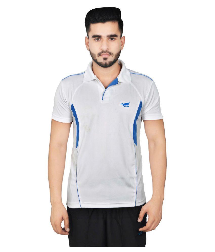 NNN White Polyester T-Shirt Single Pack