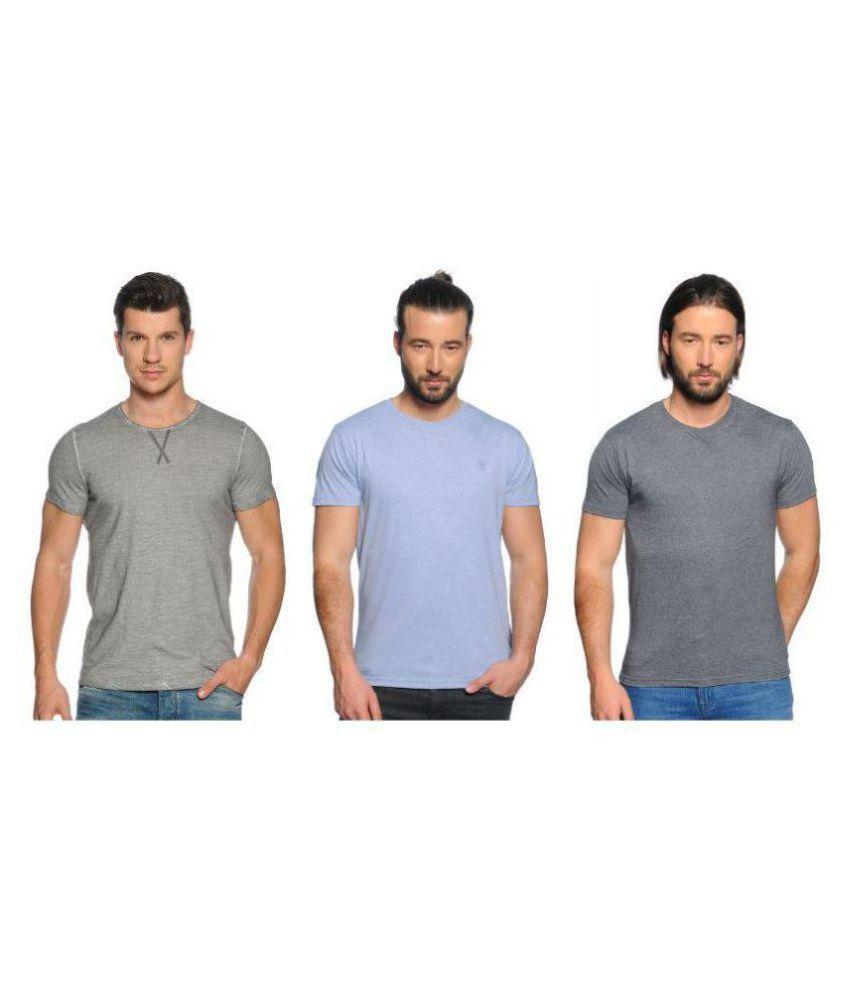 Zachi Multi Half Sleeve T-Shirt Pack of 3