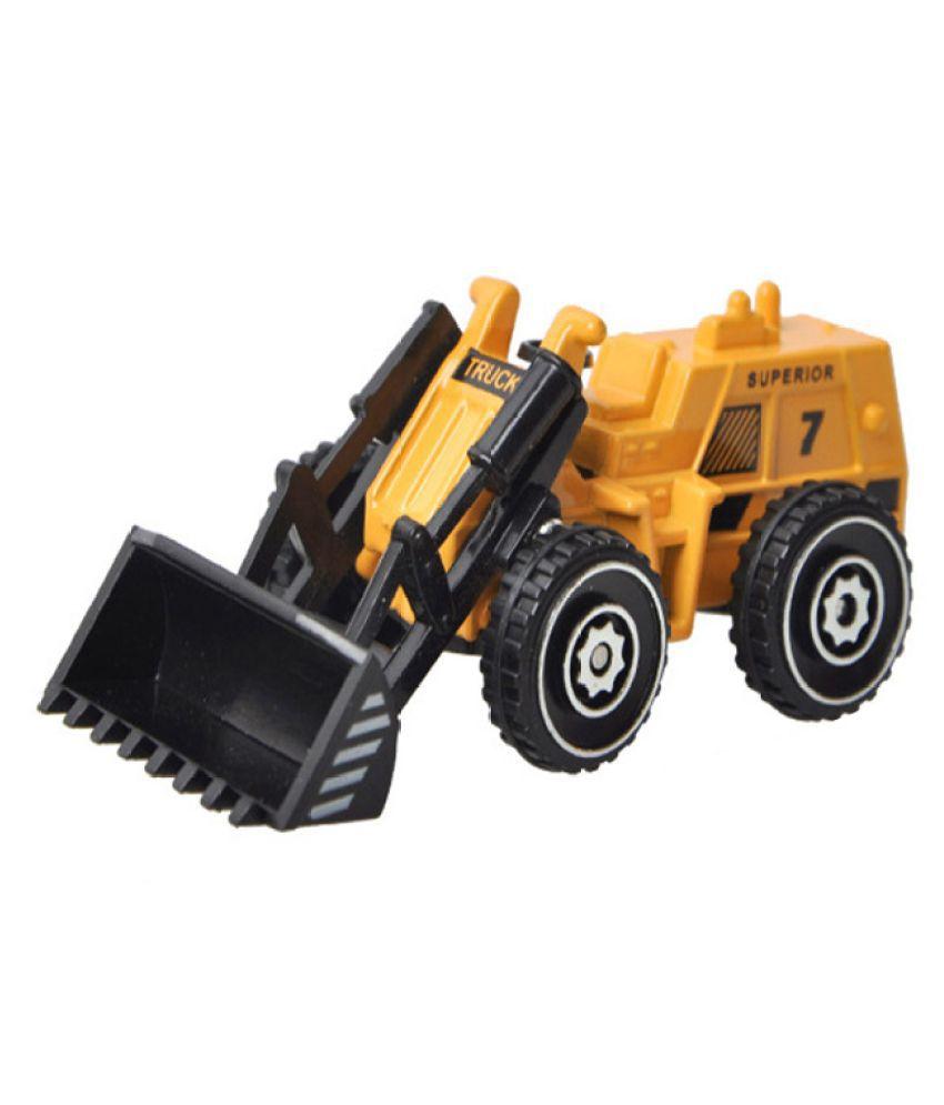Kamalife Yellow Engineering Bulldozer 1 Pc Alloy Toy Car Simulation