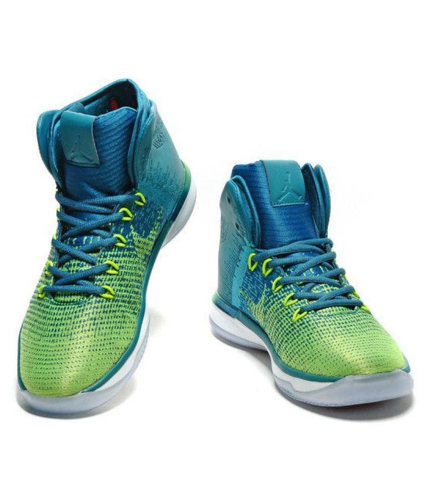 Nike Air Jordan 31 XXX1 Rio Brazil Green Basketball Shoes - Buy Nike ... 539c23a0c1