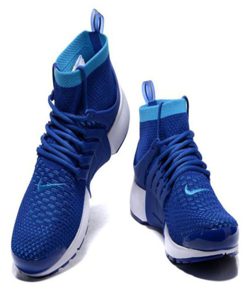 1f08a3dede7 Nike Air Presto Ultra Flyknit Blue Running Shoes - Buy Nike Air ...
