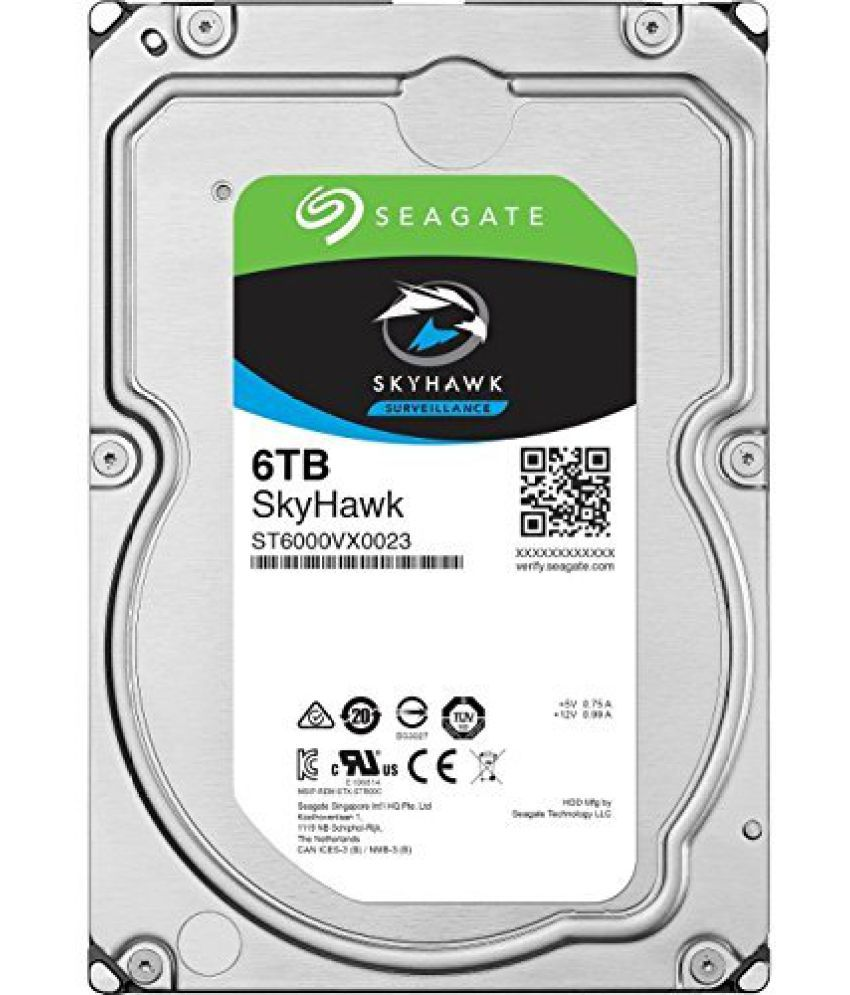 Seagate ST6000VX0023 6 TB Internal Hard Drive Internal Hard drive