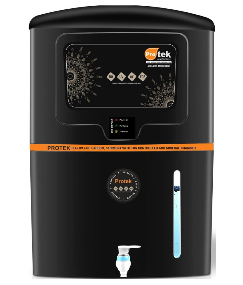 c057097e42 Protek Elite 12 Ltr ROUVUF Water Purifier Price in India - Buy Protek Elite  12 Ltr ROUVUF Water Purifier Online on Snapdeal
