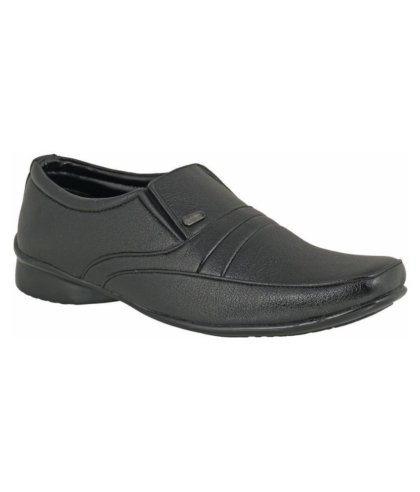 Action Office Black Formal Shoes