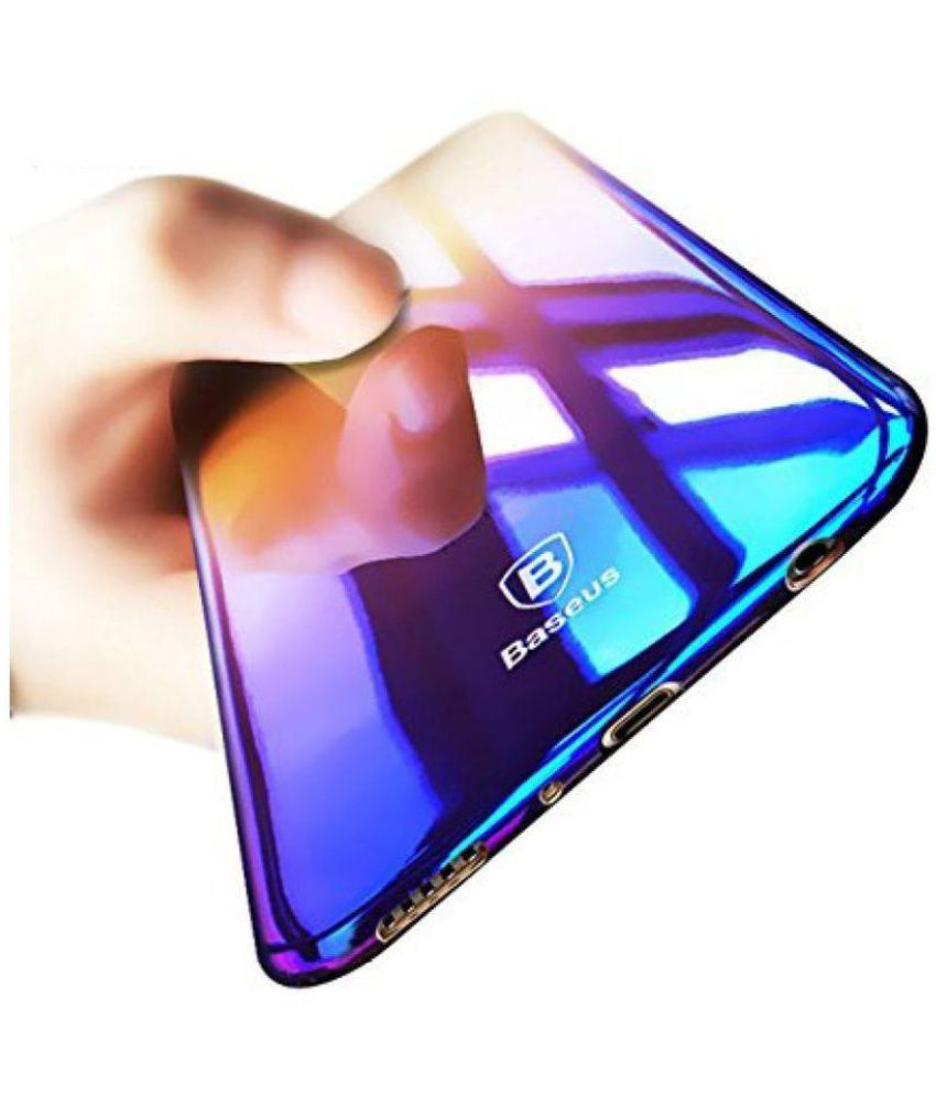 buy online fa656 e93ad Vivo V9 Mirror Back Covers ELEF - Blue Shining Series Case One Angle One  Color