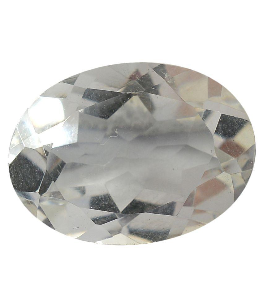 pitliya jewellers 12 -Ratti Self certified White Quartz Semi-precious Gemstone