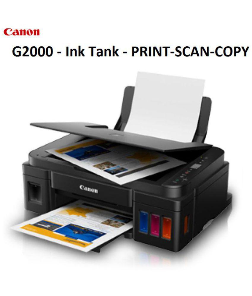 Canon G2010 Multi Function Ink Tank Printer