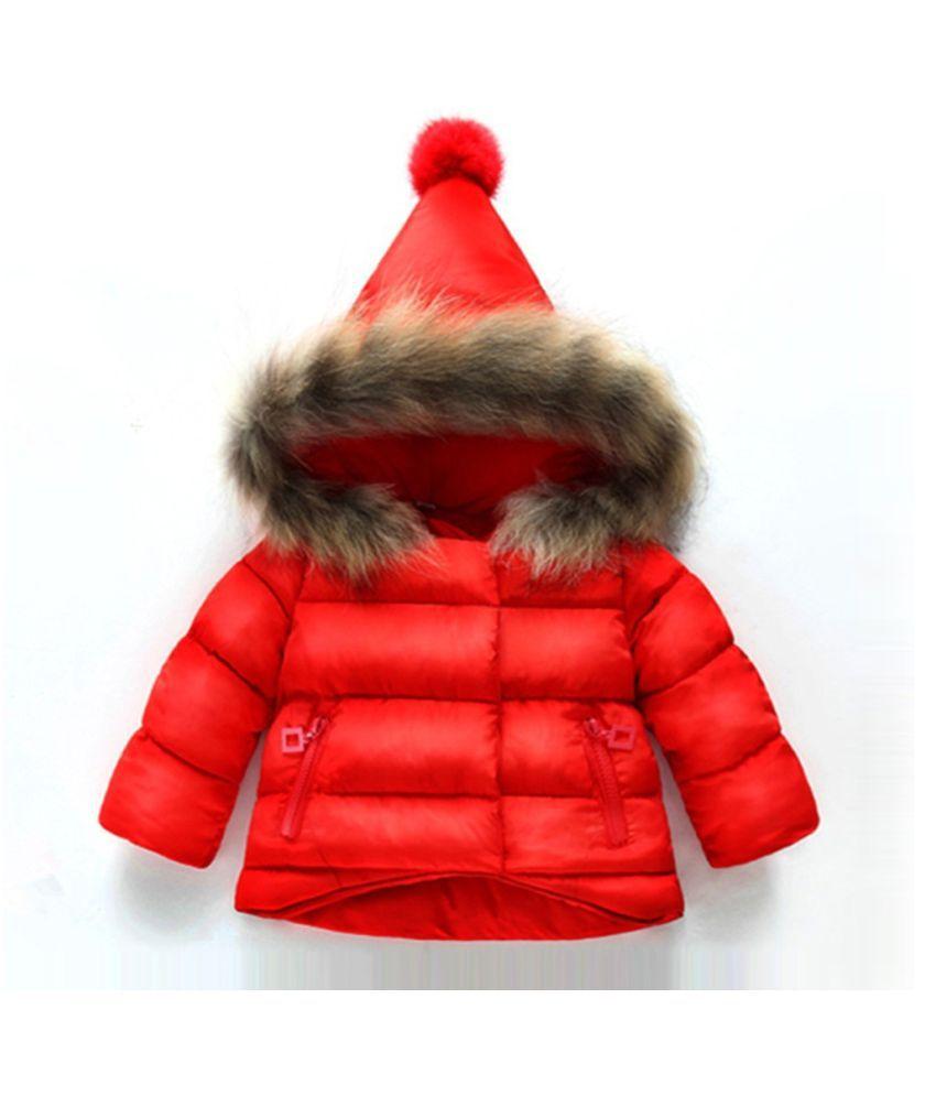 Changing Destiny Children's Red warm jacket