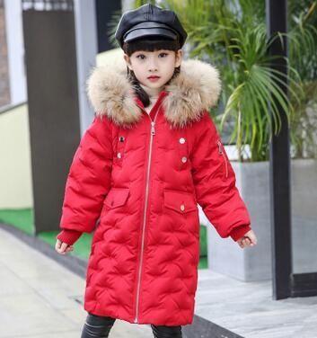 Changing Destiny kids red Down jacket/coat