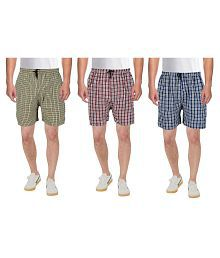 BIS Creations Multi Boxer Pack of 3