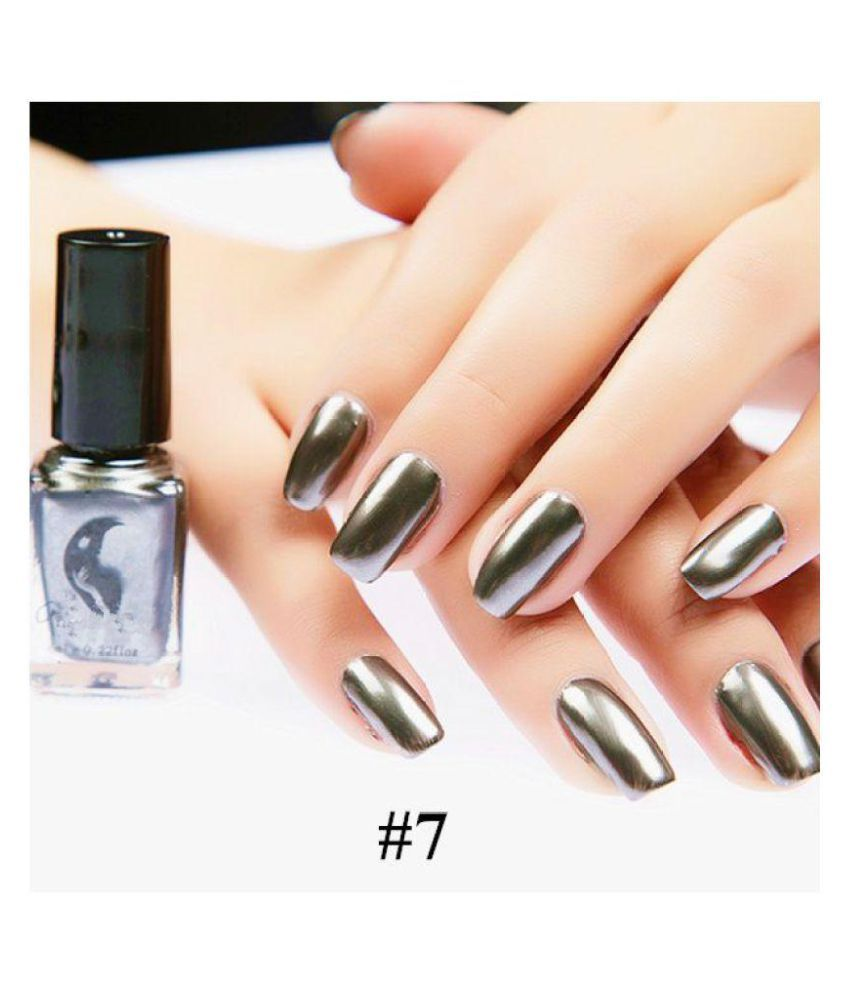 Guru Craney Nail Polish 07# Meteorite Black Glossy 9 gm