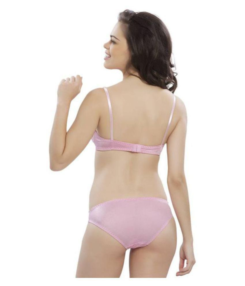 2f932eb067 Buy HOBBY LINGERIE Cotton Bra and Panty Set Online at Best Prices in ...