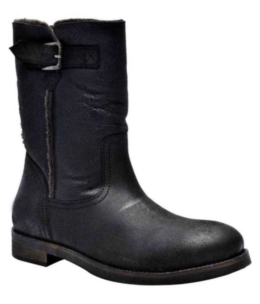 Kuja Paris Black Snow Boot