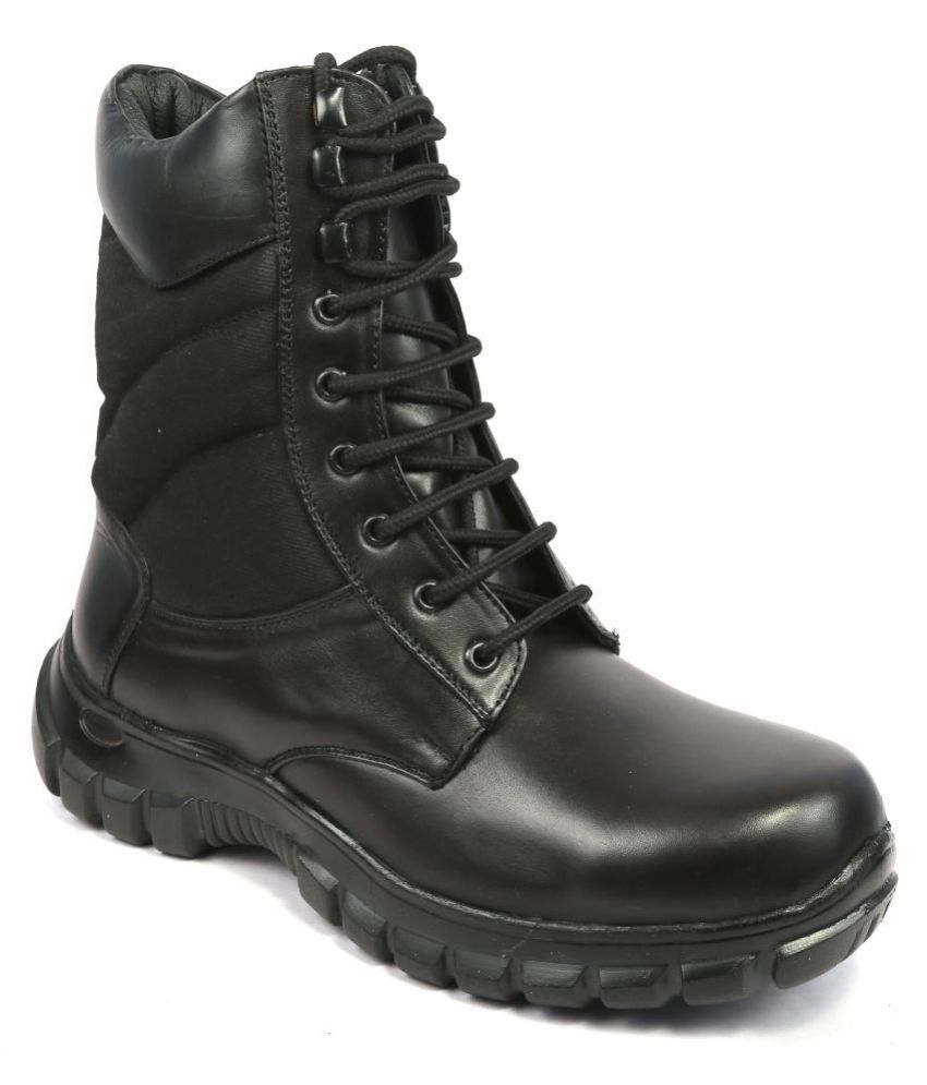 Icebull Leather Black Casual Boot