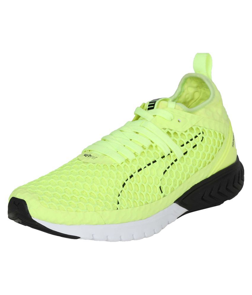 Puma Ignite Dual Netfit Sneakers Green Casual Shoes