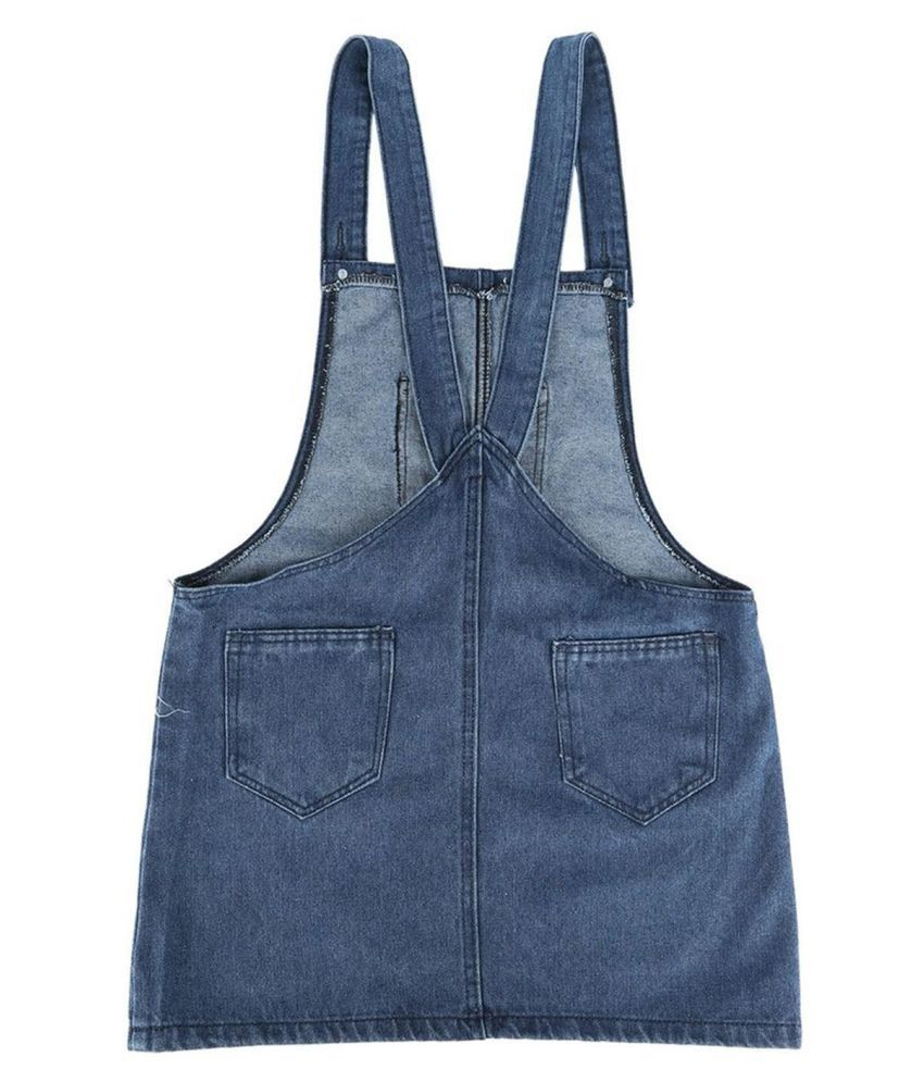 Generic Blue Canvas Backpack