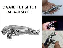 Jaguar / Puma Style Car Cigarette Lighter Silver
