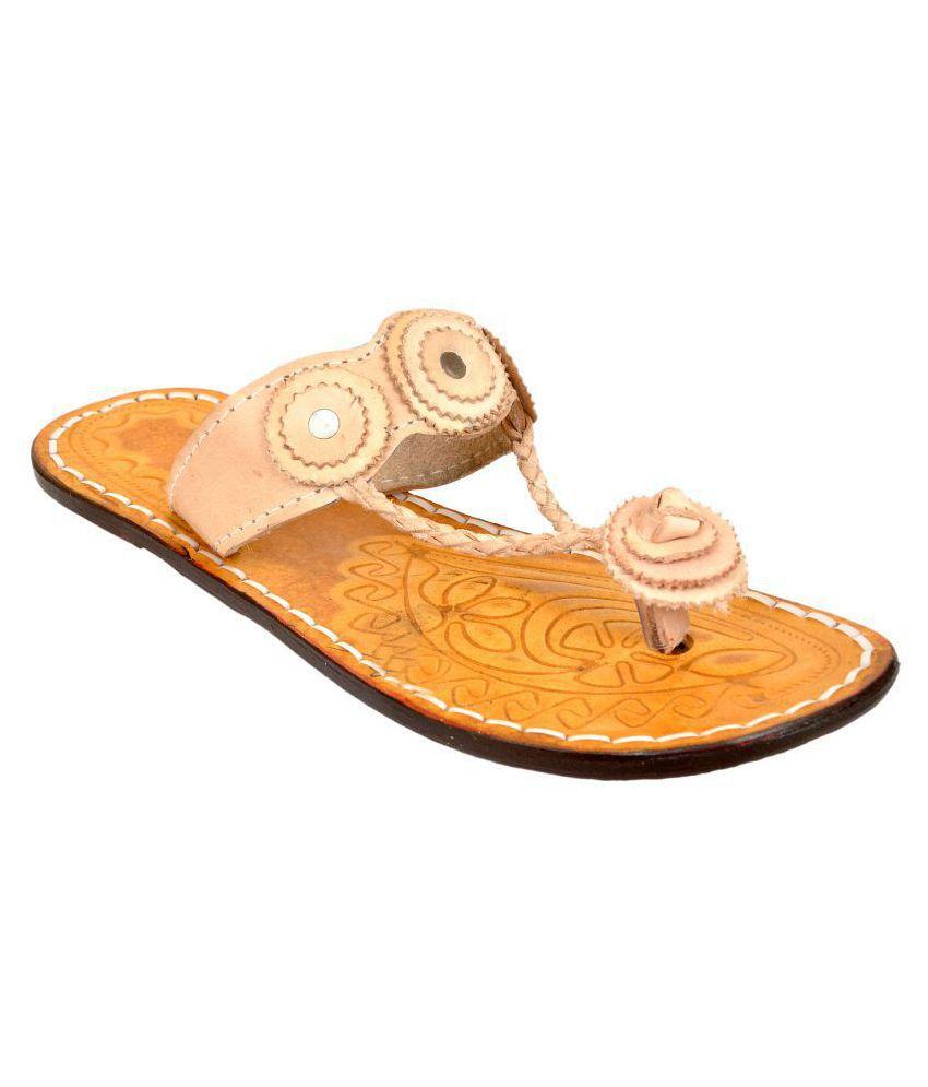 Altek Tan Ethnic Footwear
