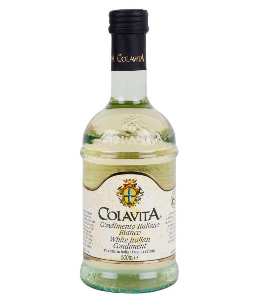 Colavita White Balsamic Vinegar (Italian Condiment) 500 ml