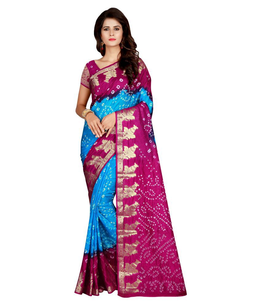 Concepta Multicoloured Art Silk Saree