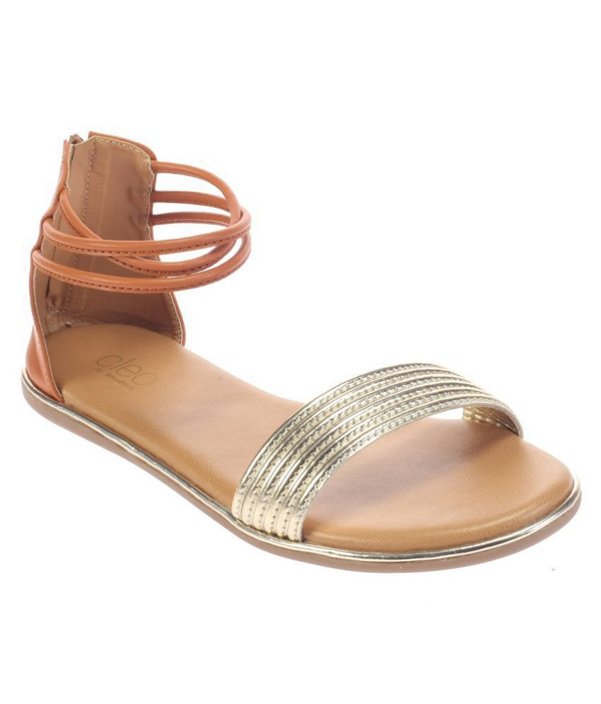 4d86e28f1 Khadim s Gold Flats Price in India- Buy Khadim s Gold Flats Online at  Snapdeal