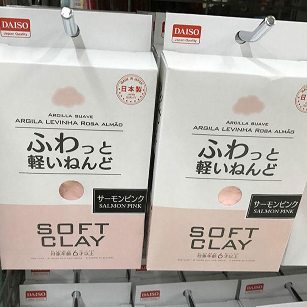 1 Pcs Japan's DAISO Clay Toy Ultra-light Paper Soft Clay