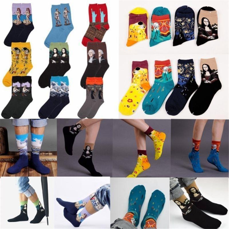 Star Retro Art Men Socks